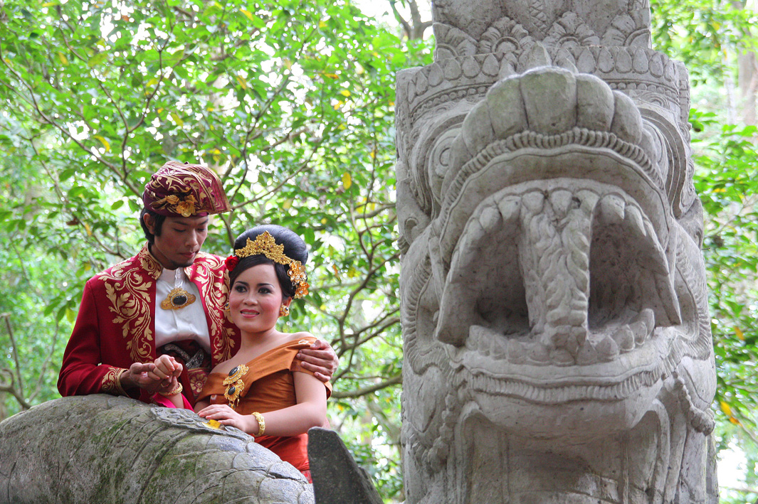 traveler wedding - balinese wedding to Ubud (Bali-Indonesia)