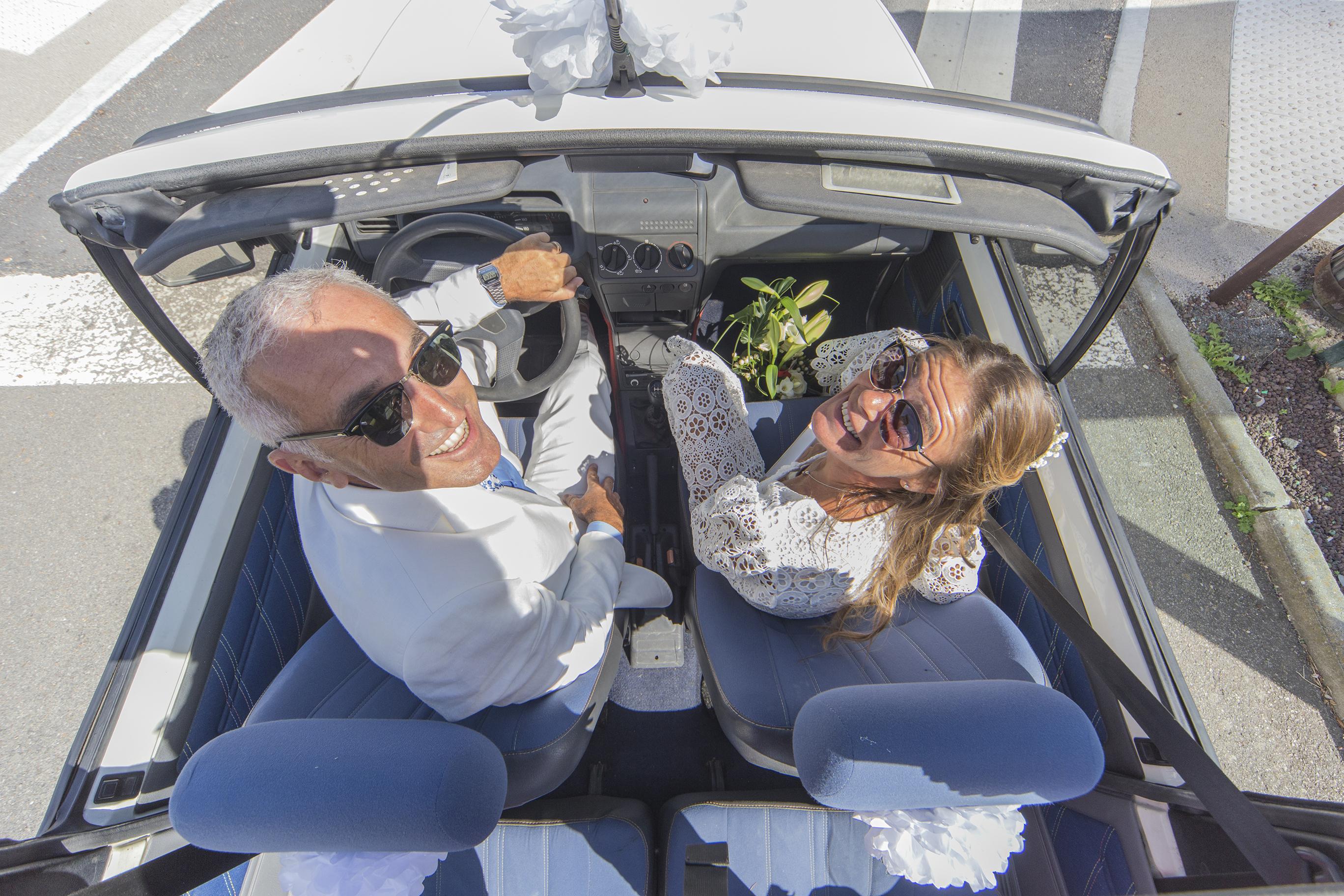 Shooting d'un mariage