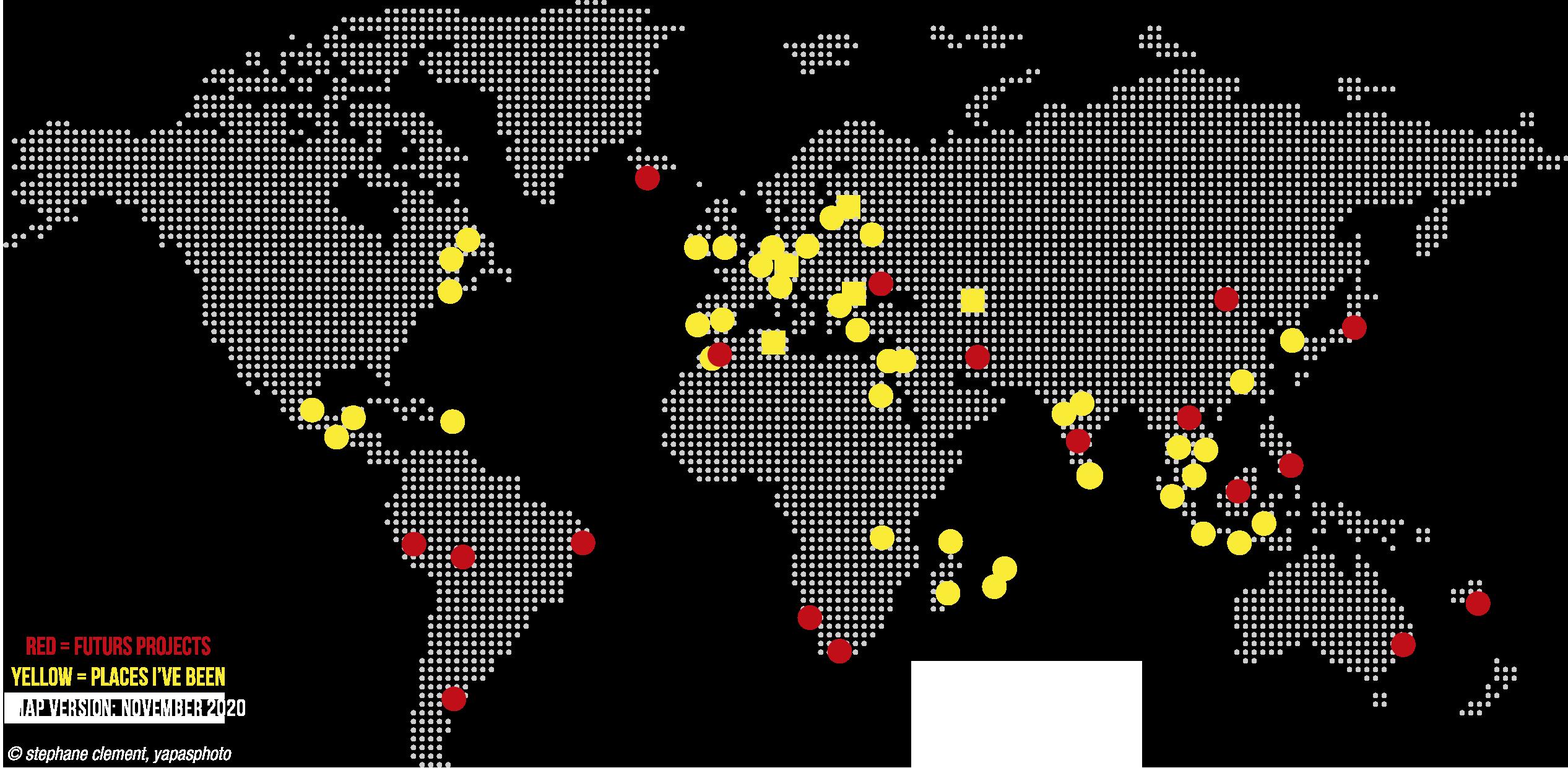 Map world yapasphoto